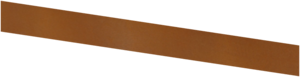 Basic - kantstöd corten 1500X150 (3 mm)