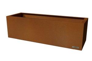 Skreastrand - planteringskärl corten 1500X500