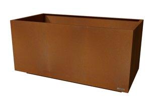 Skreastrand - planteringskärl corten 2000X1000