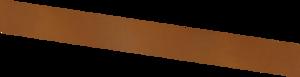 Basic - kantstöd corten 3000X150 (3 mm)