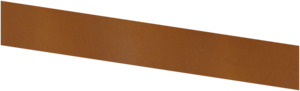 Basic - kantstöd corten 1500X200 (4 mm)