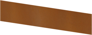 Basic - kantstöd corten 1500X300 (4 mm)