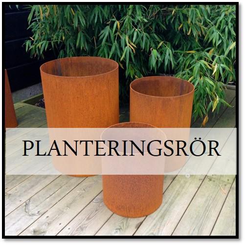 Planteringsrör corten